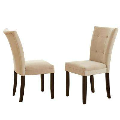 Matinee Beige Parsons Chair (Set of 2)