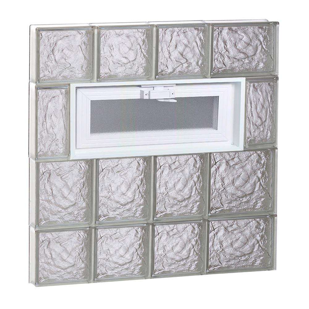 Clearly secure 25 in x 27 in x in ice pattern for 18 x 27 window