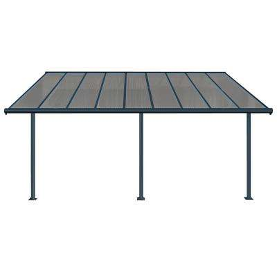 Gray Bronze Patio Cover Awning