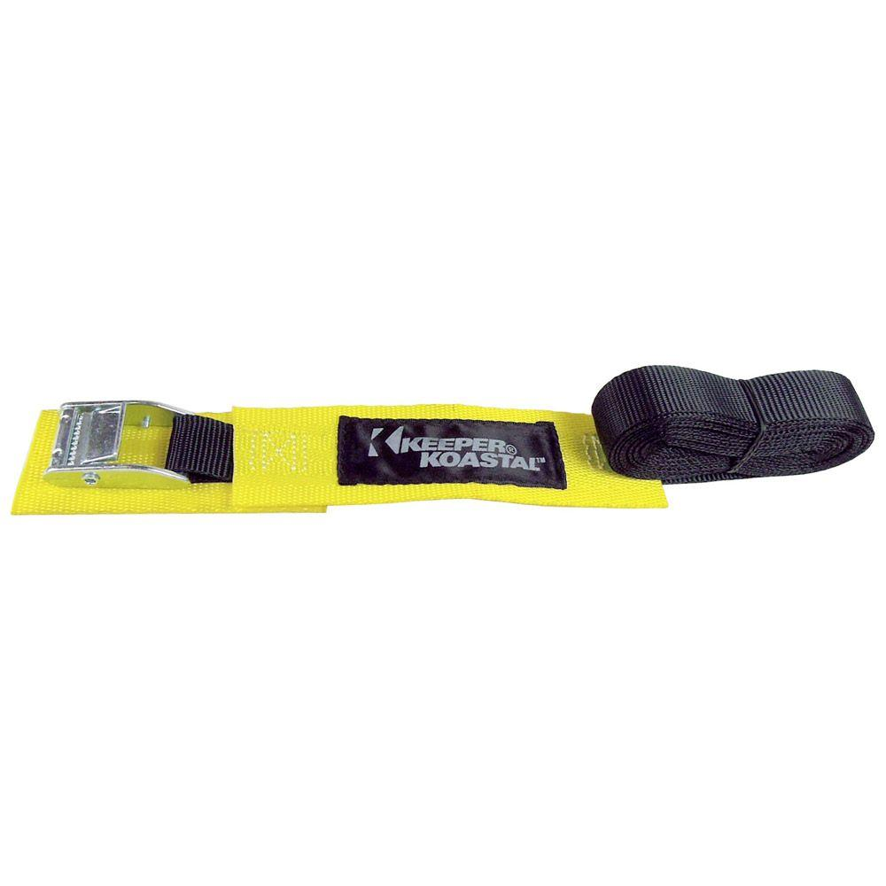 Keeper 15 ft. Lashing Strap with Strap Wrap
