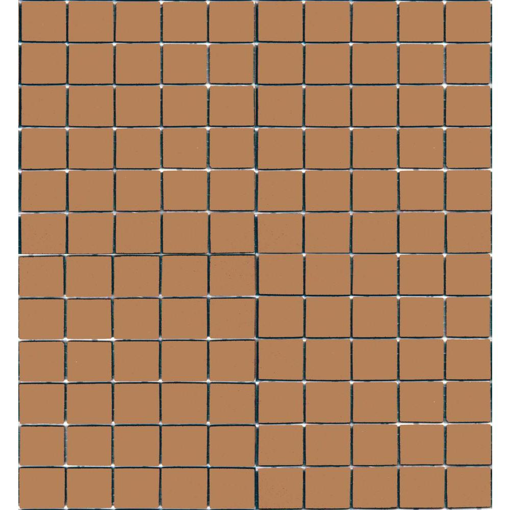Coffeez Cappuccino-1102 Mosiac Recycled Glass Mesh Mounted Floor and Wall Tile