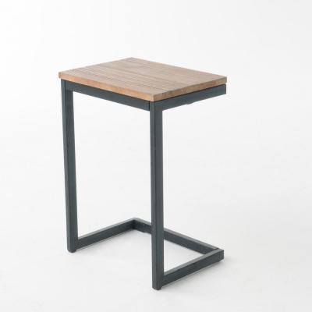Darlah Antique Medium Firewood Accent Table