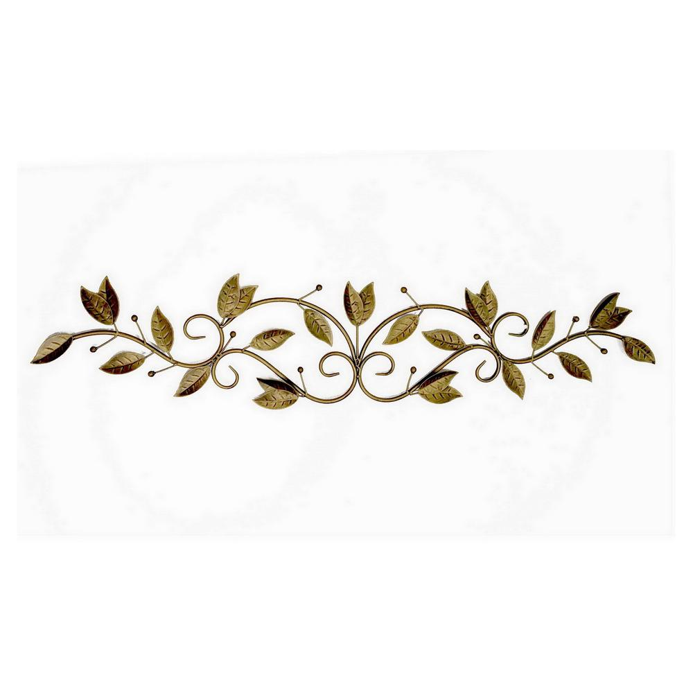 Gold Metal Wall Decoration