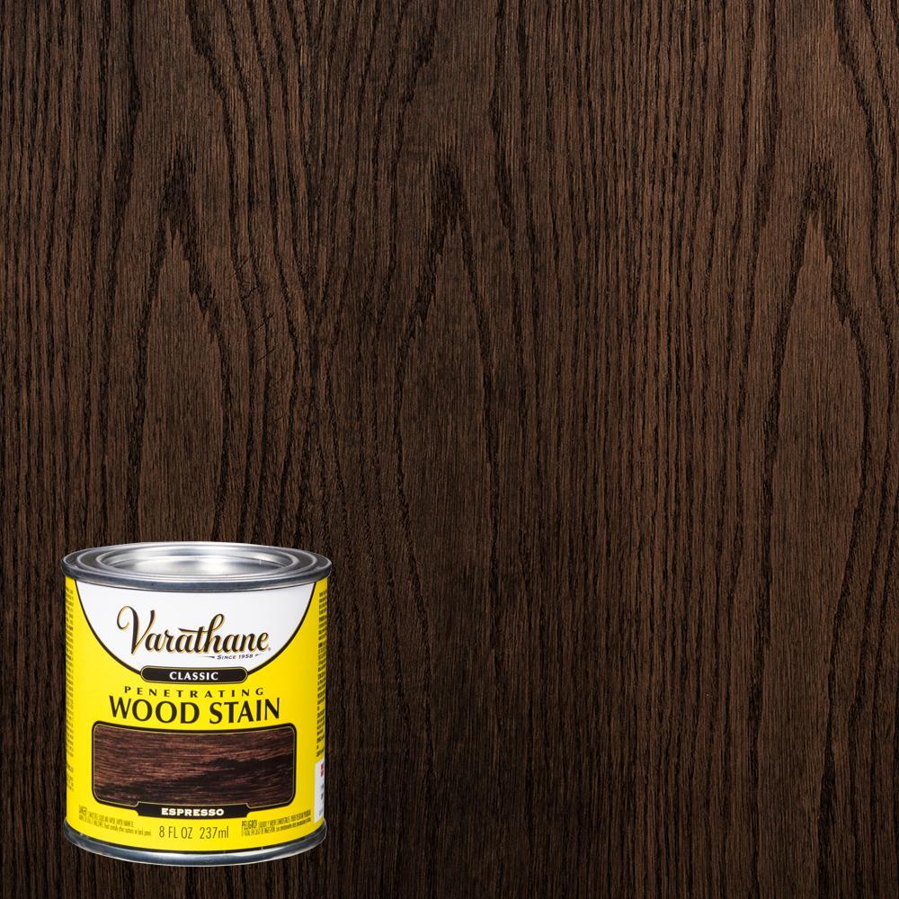 Varathane 8 Oz Espresso Classic Wood Interior Stain 339743 The Home Depot