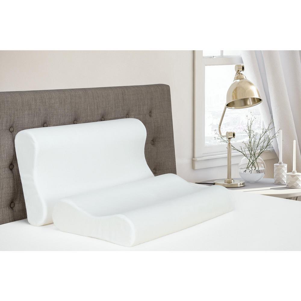 Signature Sleep Contour Memory Foam King Size Pillow