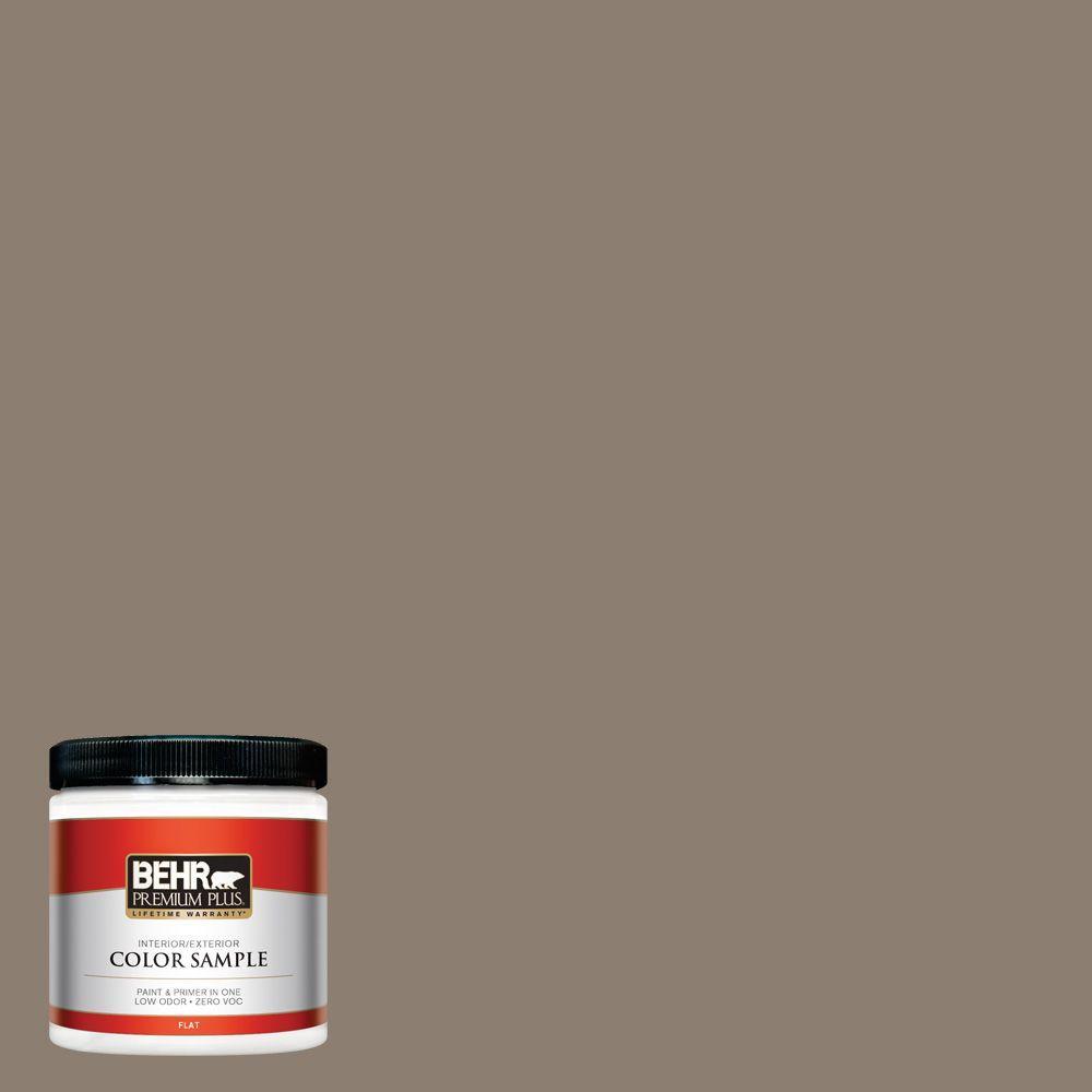 8 oz. #BNC-36 Restful Brown Interior/Exterior Paint Sample