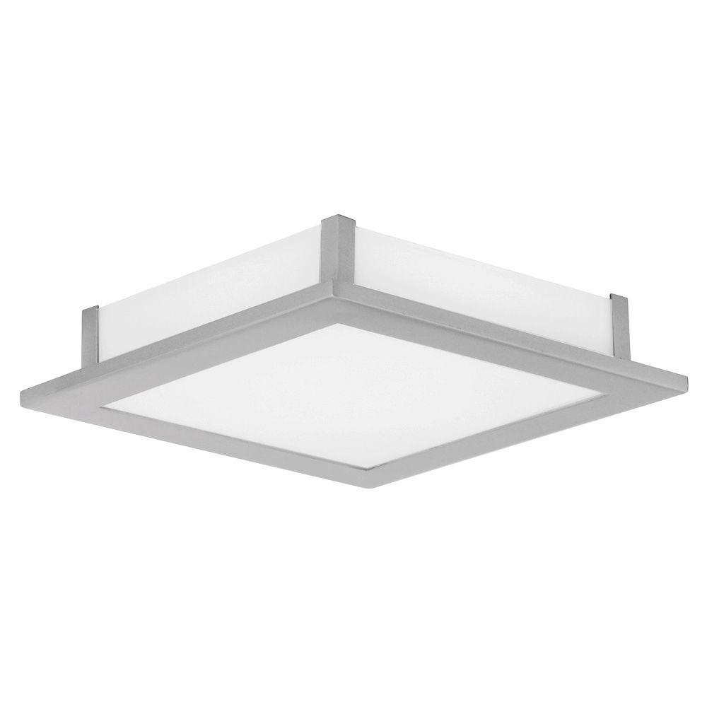 null Auriga 1-Light Ceiling Matte Nickel Light