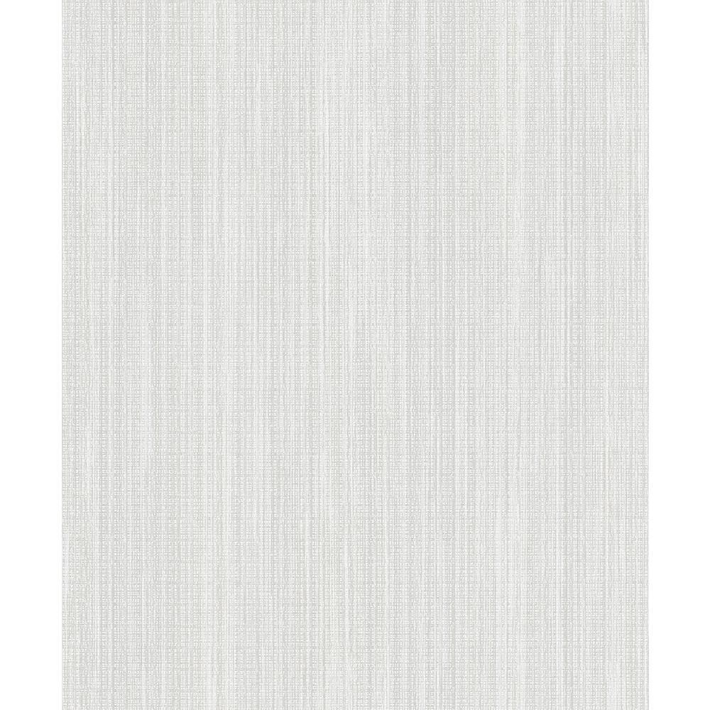 Advantage 8 in. x 10 in. Audrey Bone Stripe Texture Wallpaper