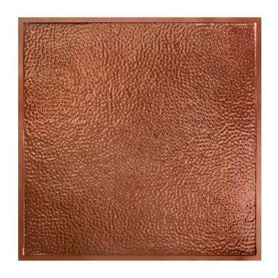 Chicago 2 ft. x 2 ft. Lay-In Tin Ceiling Tile in Vintage Bronze (Case of 5)