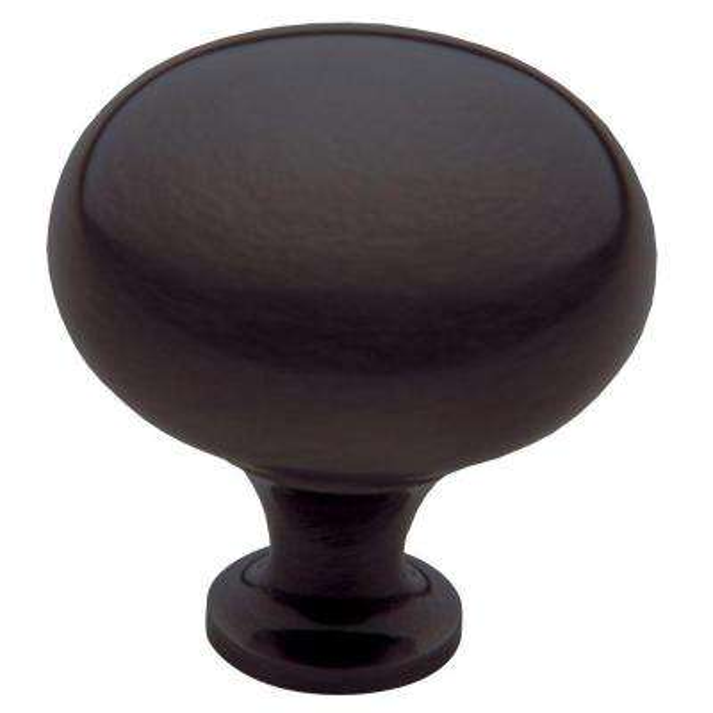 Classic 1-3/4 in. Venetian Bronze Round Cabinet Knob