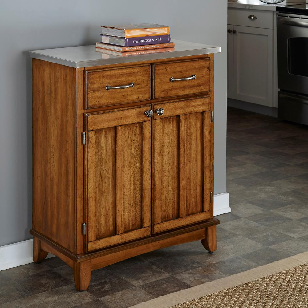 home styles cottage oak buffet with storage 5001 0066 the home depot rh homedepot com
