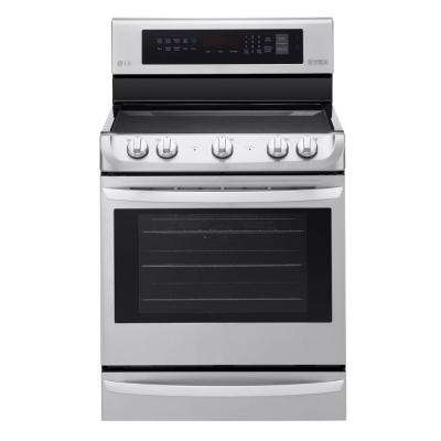 6.3 cu. ft. Electric Range with ProBake Convection Oven in Stainless Steel