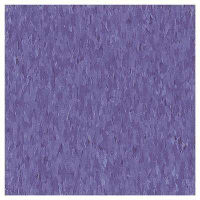 Take Home Sample - Imperial Texture VCT Violet Bloom Limestone Standard Excelon Commercial Vinyl Tile - 6 in. x 6 in.