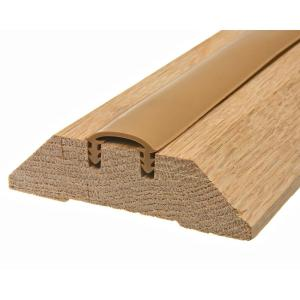Frost King E O 3 1 2 In X 36 In Wood Threshold W3636h