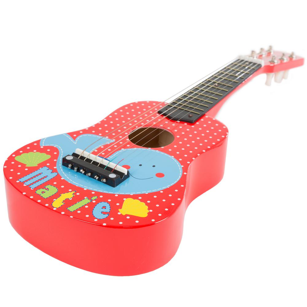 Acoustic Toy Guitar With 6 Tunable Strings M420024 The