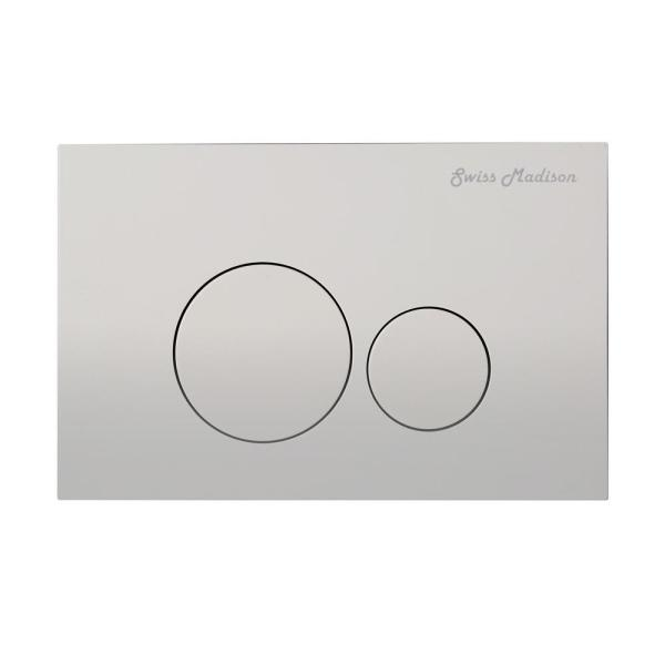 """Top Mounted Duel Flush Button 1.5/"""" by 2.5/"""""""
