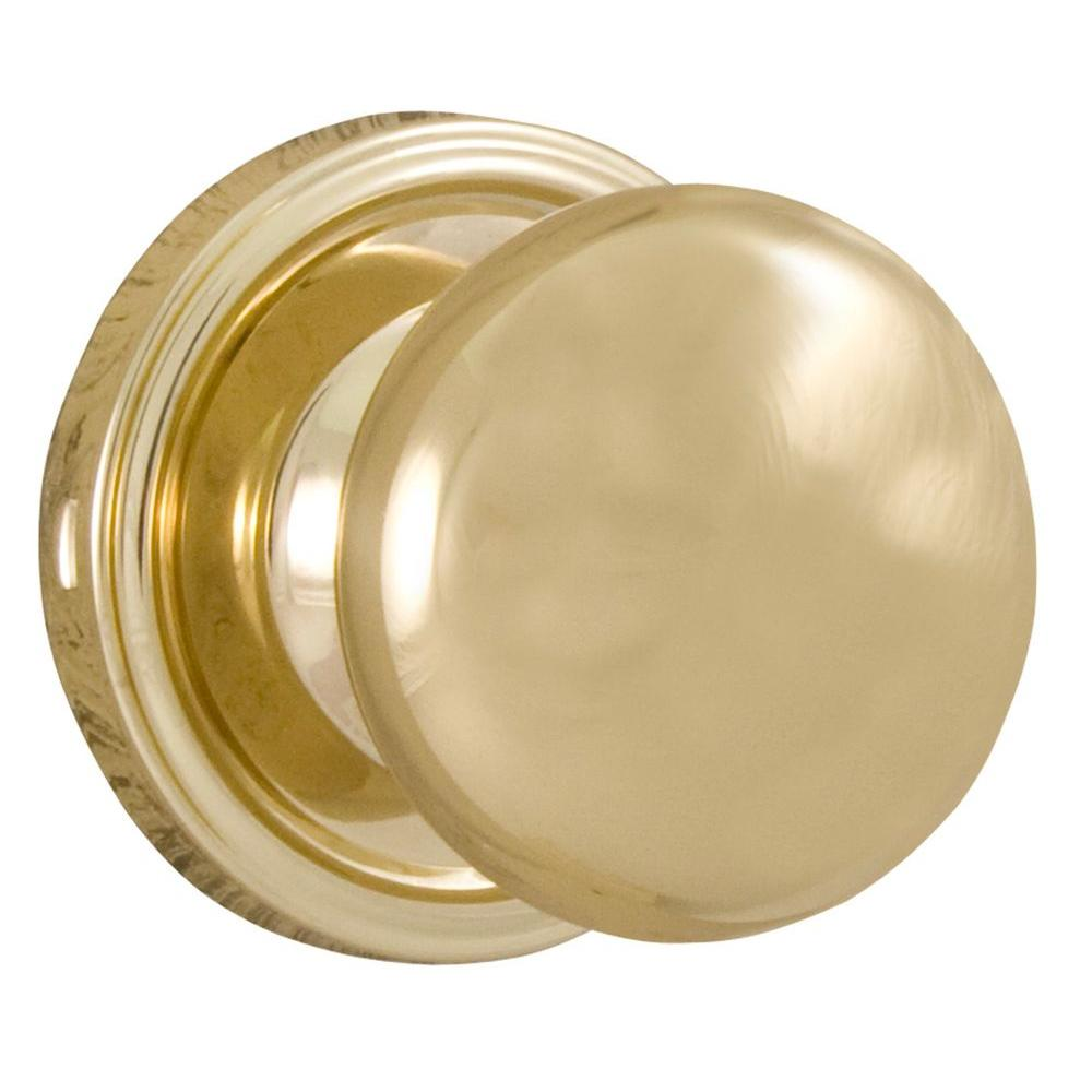 How To Remove A Bathroom Door Handle With Lock: Weslock Traditionale Polished Brass Passage Hall/Closet