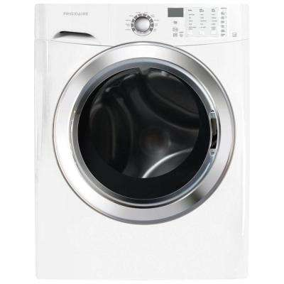3.9 cu. ft. High-Efficiency Front Load Washer with Steam in Classic White, ENERGY STAR