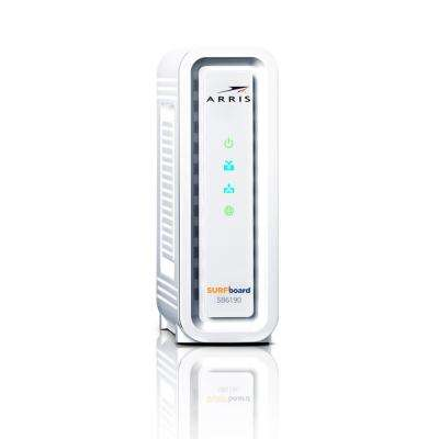 SURFboard Gigabit+ DOCSIS 3.0 32 x 8 Cable Modem SB6190 Refurbished