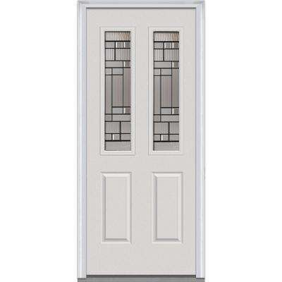 32 x 80 - 2 Lite - Doors With Glass - Fiberglass Doors - The Home ...