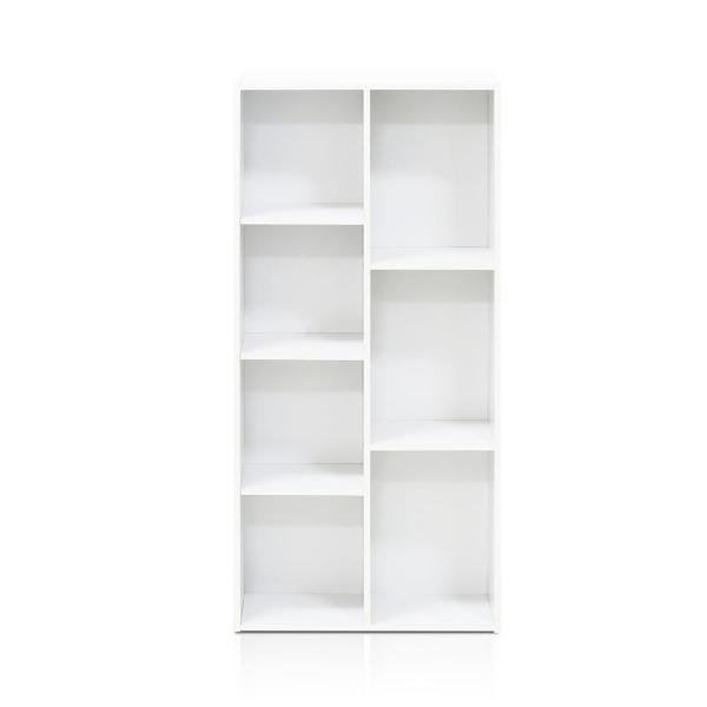 Legno White Green 11 Furinno 7 Cube Reversible Librerie