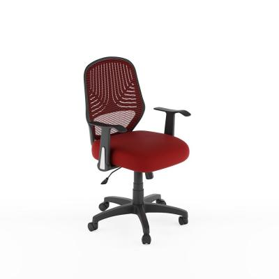 Workspace Red Mesh Office Chair