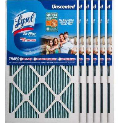 14 in. x 20 in. x 1 in. Certified Asthma and Allergy Triple Protection Air Filter (6-Pack)