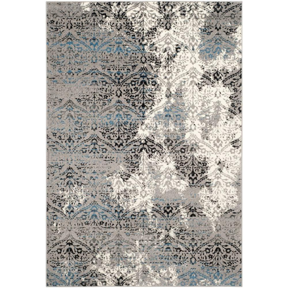Safavieh Evoke Grey/Blue 4 ft. x 6 ft. Area Rug