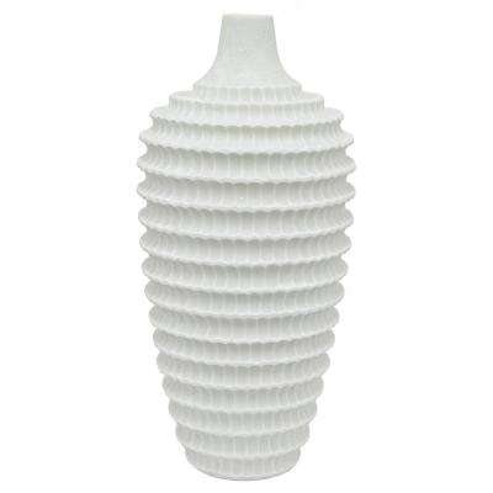 Textured Resin Vase