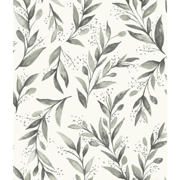 Magnolia Home by Joanna Gaines 56 sq.ft. Olive Branch Wallpaper ME1537
