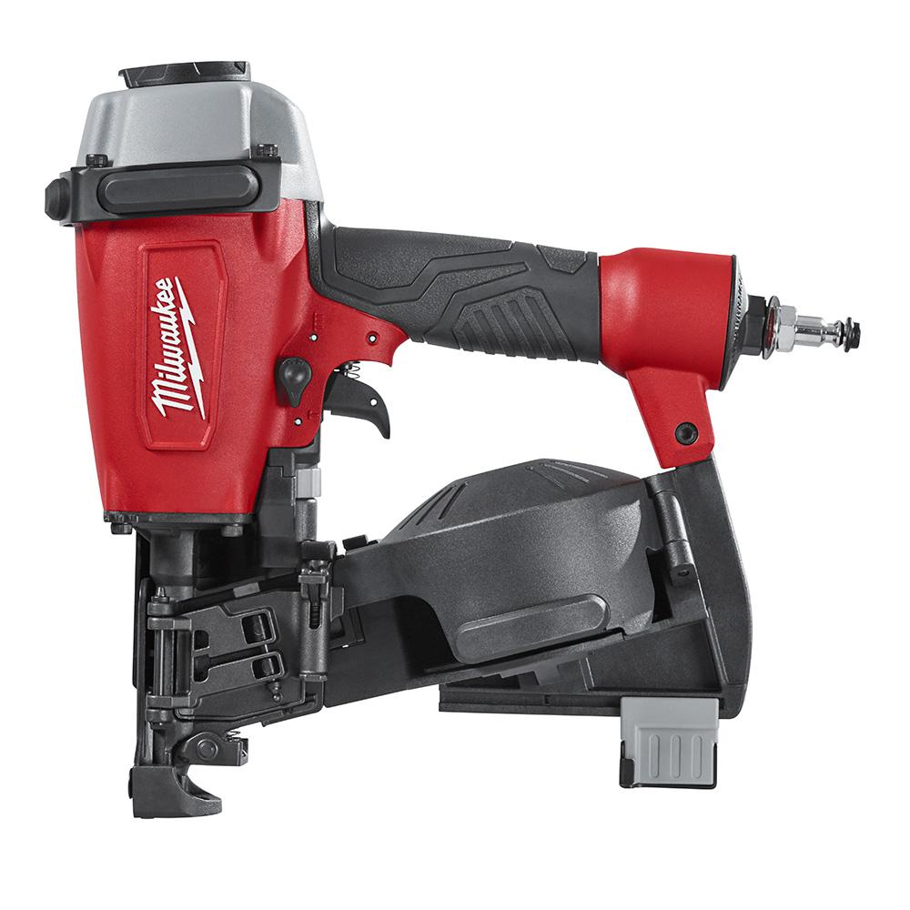 Milwaukee Reconditioned Pneumatic 1-3/4 inch 15-Degree Coil Roofing Nailer