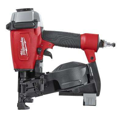 Reconditioned Pneumatic 1-3/4 in. 15-Degree Coil Roofing Nailer