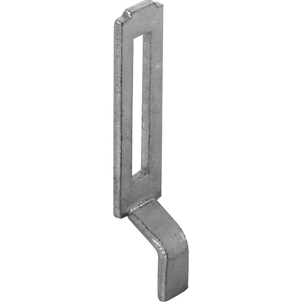 Prime Line Sliding Screen Door Latch Strike, Adjustable, Steel