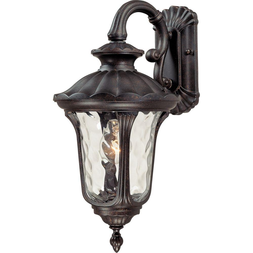 Volume Lighting 1-Light Vintage Bronze Outdoor Wall Mount ...