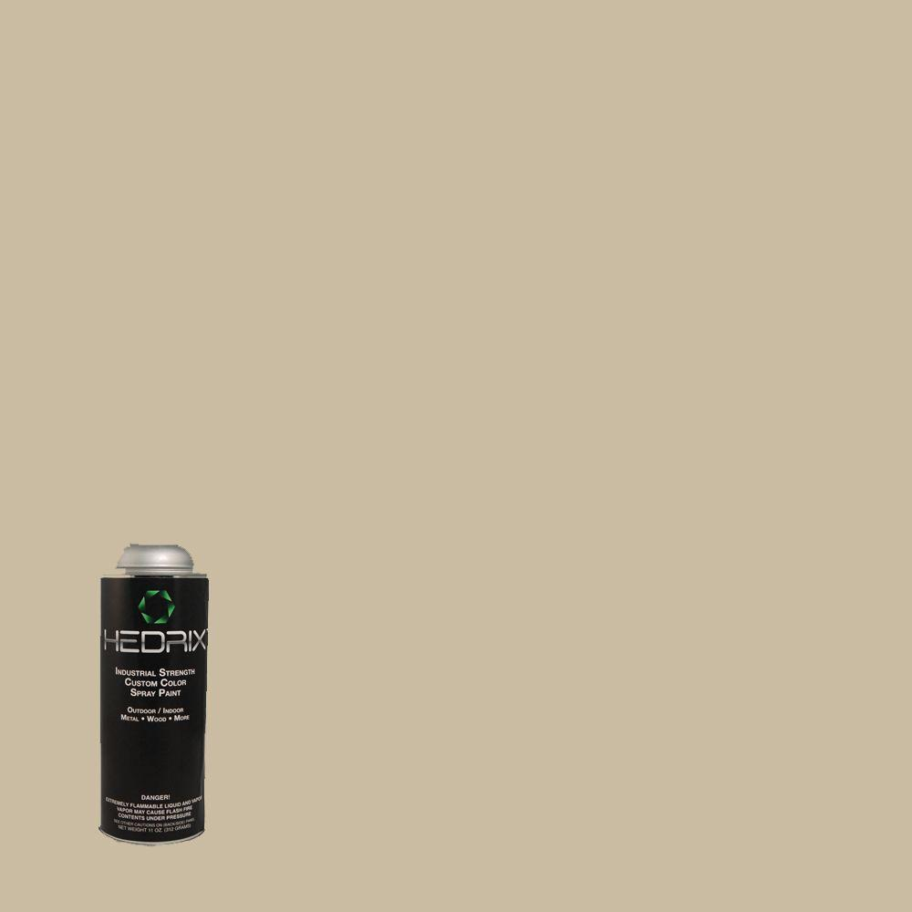 Hedrix 11 oz. Match of Gobi Desert 710C-3 Gloss Custom Spray Paint (2-Pack)