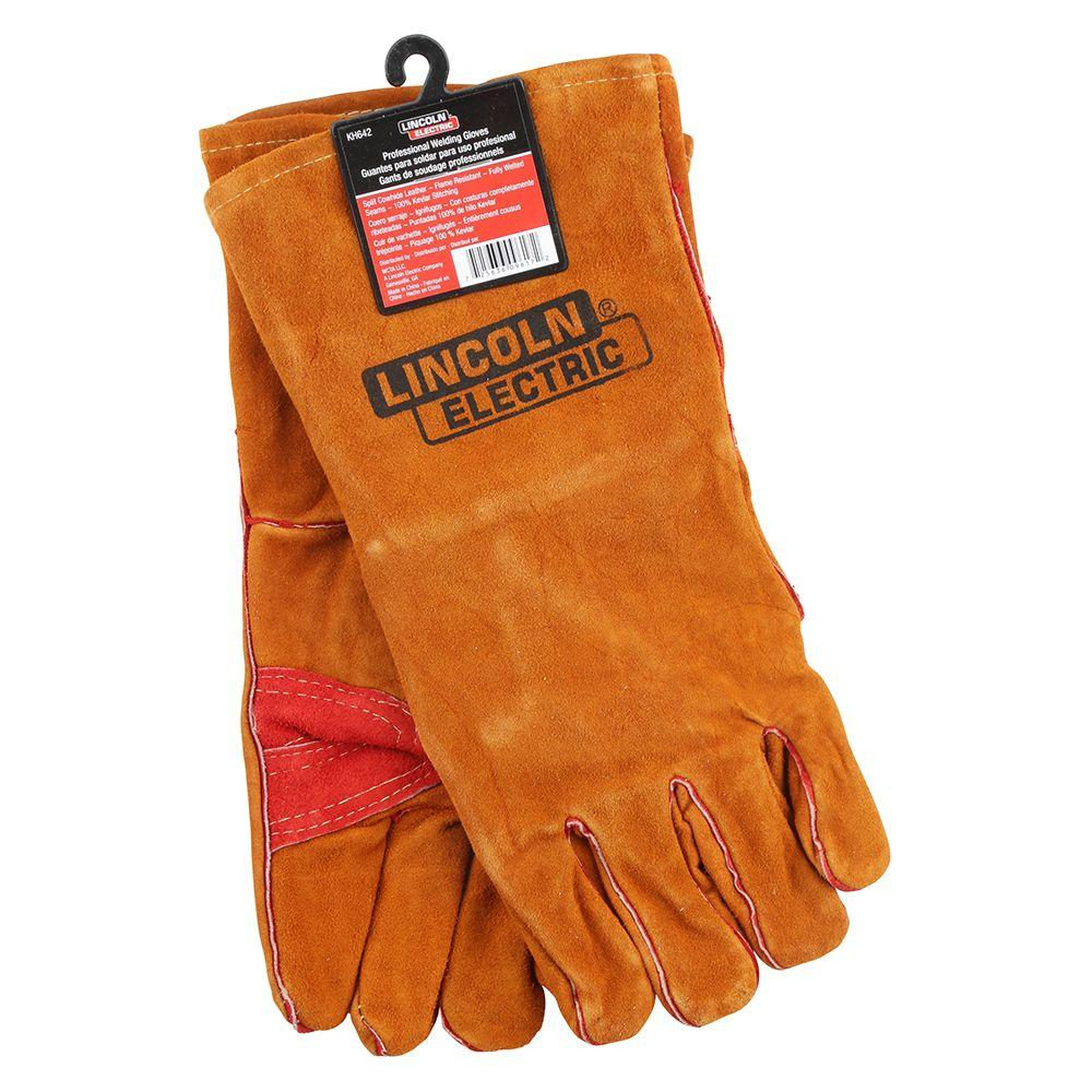 Lincoln Electric Leather Welding Gloves