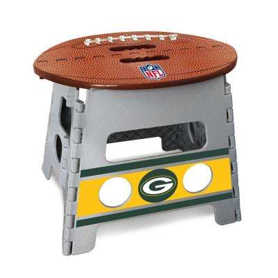 NFL Green Bay Packers Plastic Folding Step Stool