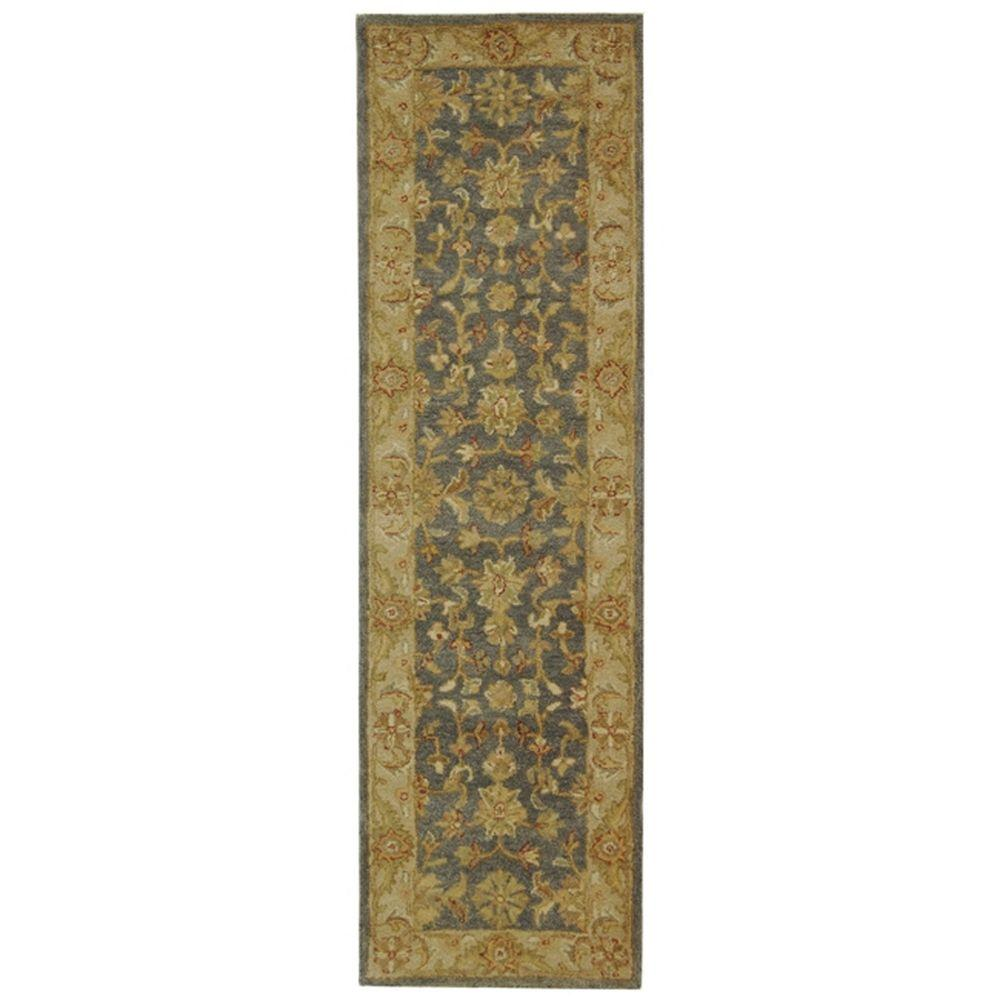 Safavieh Antiquity Blue/Beige 2 ft. 3 in. x 14 ft. Runner