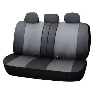 Adventure Class Poly Flat Cloth 26 in. L x 55.9 in. W x 31.5 in. H Bench Seat Cover in Gray
