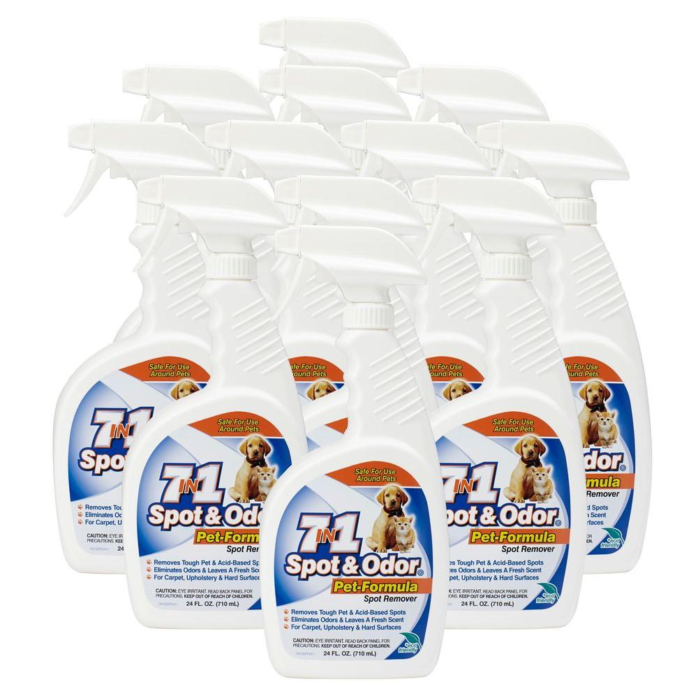 24 oz. Spot and Odor-Pet Formula Spot Remover Spray Bottle (12-Pack)