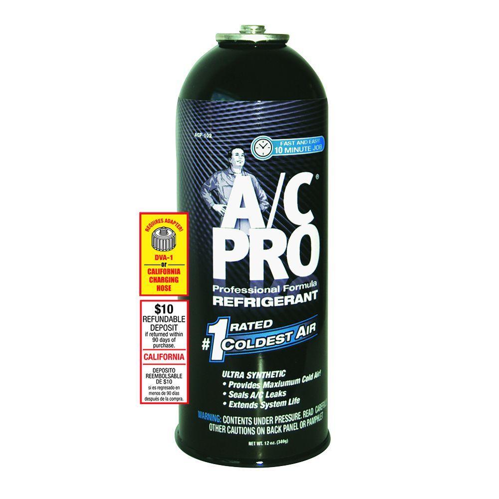 AC Pro 20 oz  Professional Formula Refrigerant with