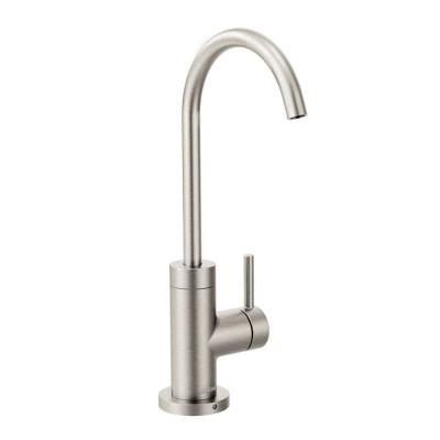 Sip Modern Lever Drinking Fountain Faucet in Spot Resist Stainless