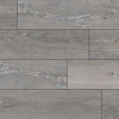 Aubrey Sea Isle Gray 9 in. x 60 in. Rigid Core Luxury Vinyl Plank Flooring (48 cases / 1077.12 sq. ft. / pallet)