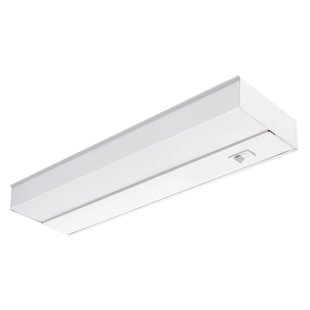 Lithonia Lighting 24 In Fluorescent Rocker Switch Direct Wire Under Cabinet Light Fixture