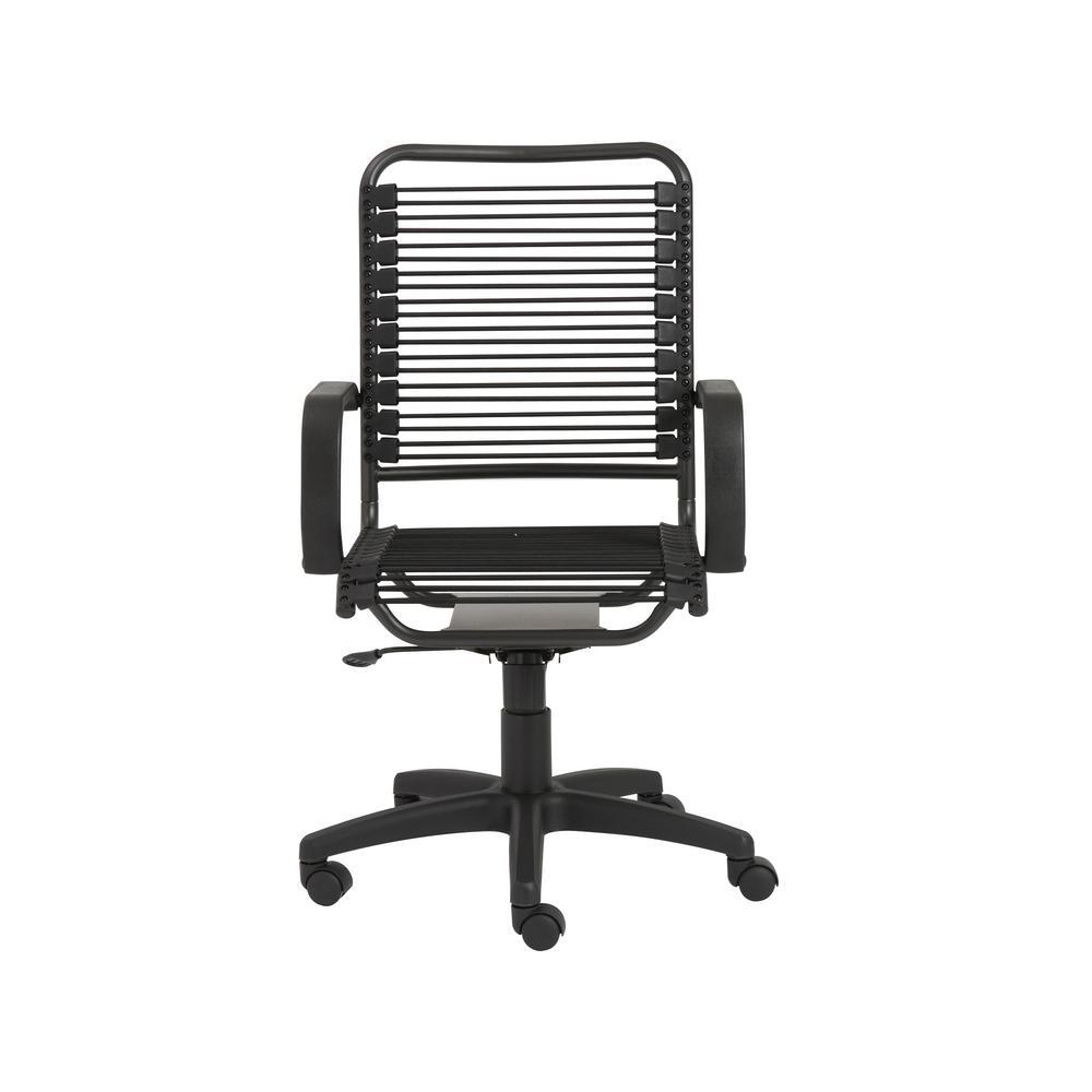 Bradley Black Bungie Office Chair