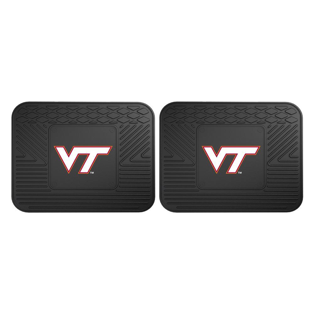 Virginia Tech Floor Mats Interior Car Accessories The Home Depot
