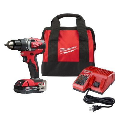 Milwaukee M18 18-Volt Lithium-Ion Compact Brushless 1/2