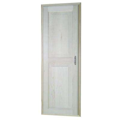Napa Valley 15.5 in. W x 43.5 in. H x 3.5 in D. Recessed Medicine Storage Cabinet in Unfinished Wood