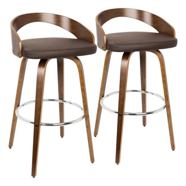 Fabulous Leather Bar Stools With Back Machost Co Dining Chair Design Ideas Machostcouk