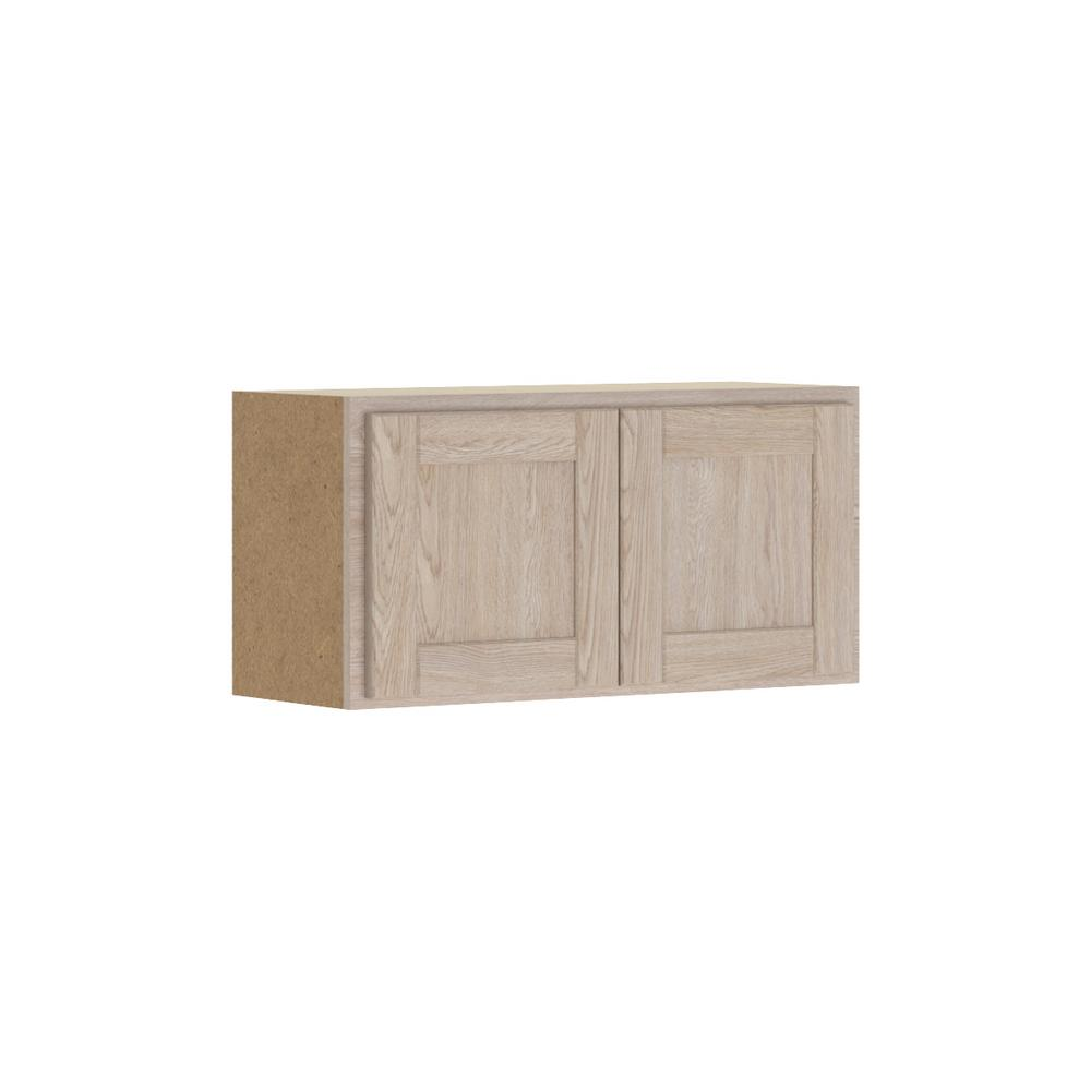 Hampton Bay Unfinished Kitchen Cabinets: Hampton Bay Stratford Assembled 30x15x12 In. Wall Bridge